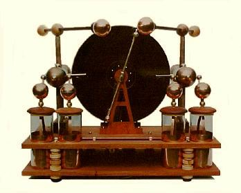 The Nikola Tesla, A Sectorless Wimshurst Static Electrical Influence Machine